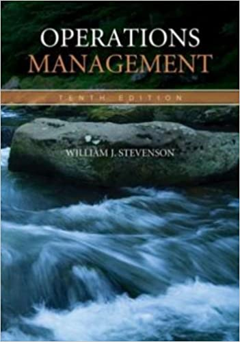 Operations management william stevenson 9780073377841 amazon operations management 10th edition fandeluxe Images