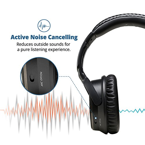 active noise cancelling bluetooth headphones ideausa. Black Bedroom Furniture Sets. Home Design Ideas