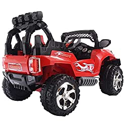 DUSTNIE Battery Operated Ride On Toys - Kids All T