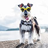 Enjoying Pet/Dog Puppy UV Goggles Sunglasses Waterproof Protection Sun Glasses For Dog - Yellow