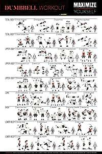 Bltzpro Mancuernas Ejercicio Fitness Póster de