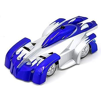Aufitker 4CH Remote Control RC Sport Racing Car Stunt Car Toy Blue …