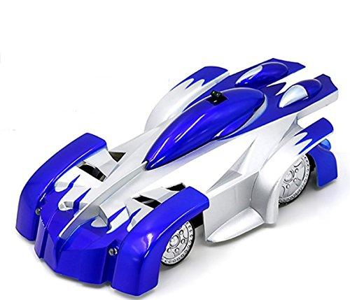 Climber Wall (Aufitker 4CH Remote Control RC Sport Racing Car Stunt Car Toy Blue …)