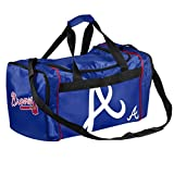 MLB Atlanta Braves Core Duffle Bag, One Size, Blue