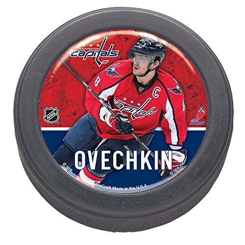 fan products of NHL Washington Capitals 30746010 Packaged Domed Hockey Puck