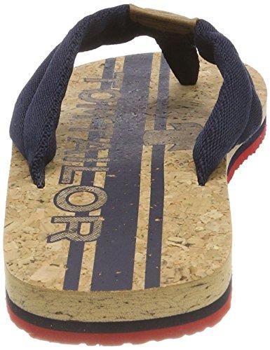 Tom Blau Navy Uomo Tailor Scarpe 4881602 red Spuntate BwqB6rf