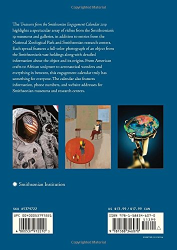 Treasures from the Smithsonian Engagement Calendar 2019: Amazon.es: Smithsonian Institution: Libros en idiomas extranjeros