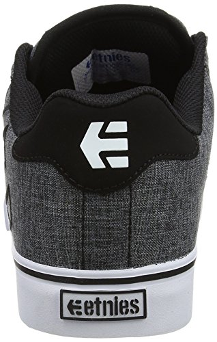 Etnies Fader Vulc Smu, Zapatillas de Skateboard para Hombre Gris (Charcoal)