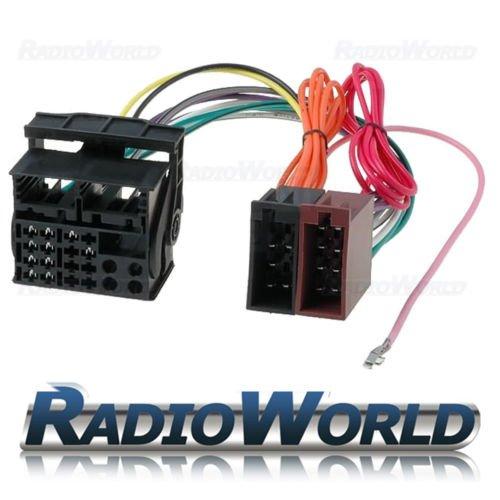 vauxhall iso to quadlock conversion lead wiring loom: amazon co uk:  electronics