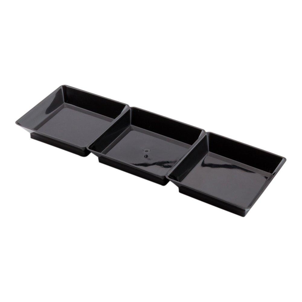7-100ct Box Clear Restaurantware RWP0052C Terzetto Lid