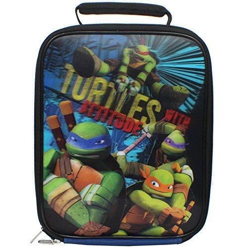 Teenage Mutant Ninja Turtles 3-D Lunch Kit Turtles With Attitude -