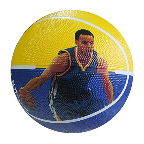 iSport Gifts Steph Curry Basketball ✓ Size 5 for Kids Adult ✓ Premium Gift Steph Curry Basketball ✓ Unique Design ✓ Durable Soft Construction
