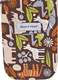 Diapees and Wipees Brown Zoo Animals Baby Diaper and Wipes Bag, Health Care Stuffs