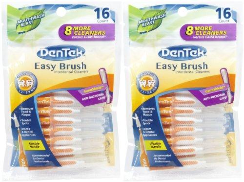 DenTek Easy Brush - 16 ct - 2 pk