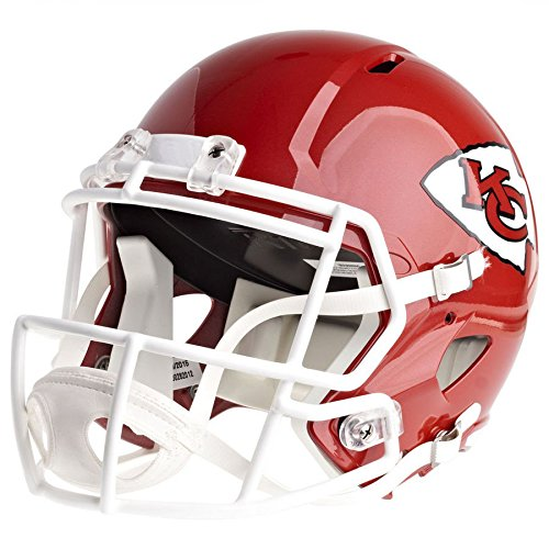 (Riddell Kansas City Chiefs Officially Licensed Speed Full Size Replica Football Helmet)