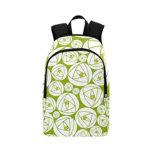 Rose Abstract Rose Garden Charles Rennie Mackintosh Unique Custom Outdoor Shoulders Bag Fabric Backpack Multipurpose Daypacks For Adult