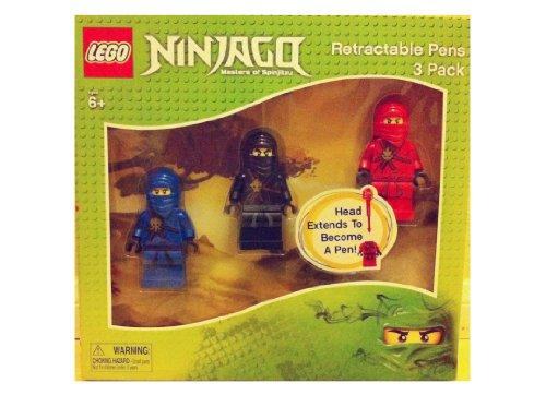 Lego Ninjago Retractable Pens Pack