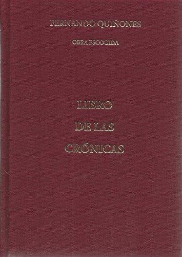 Libro De Las Crnicas Ebook Fernando Quiones Pdf Diatabsure