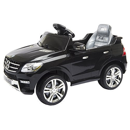 Costzon-Mercedes-Benz-ML350-6V-Ride-On-Car-Electric-Kids-Car-with-Parental-Remote-Control-LED-Headlights-Horn-MP3-Input-Black