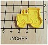 Farming Tractor Shaped Cookie Cutter and Stamp #1271