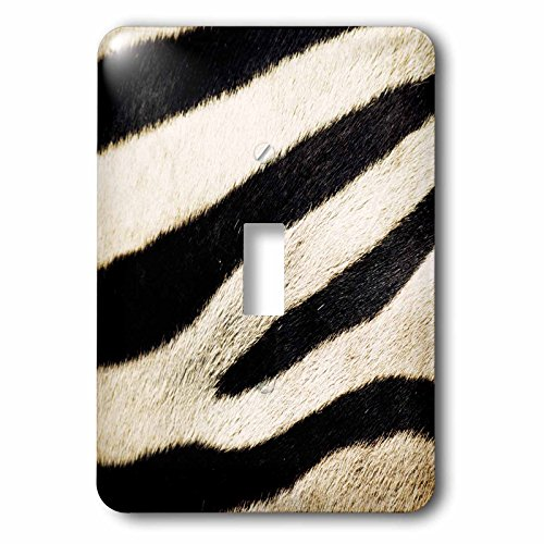 3dRose lsp_208770_1 Usa, California, San Diego Zoo, Extreme Close-Up Of Zebra - Single Toggle Switch