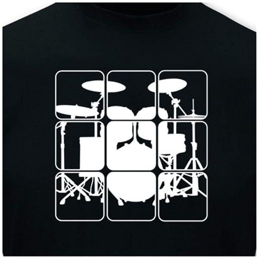 Samunshi T-Shirt /'Listen to the Music/' Neonfarben  8 Farben  S 5XL