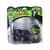 Bargain World 5'' Black Bear Robot Action Figure (With Sticky Notes)