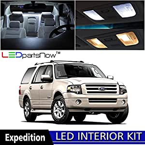 Ledpartsnow 2003 2013 Ford Expedition Led Interior Lights Accessories Replacement
