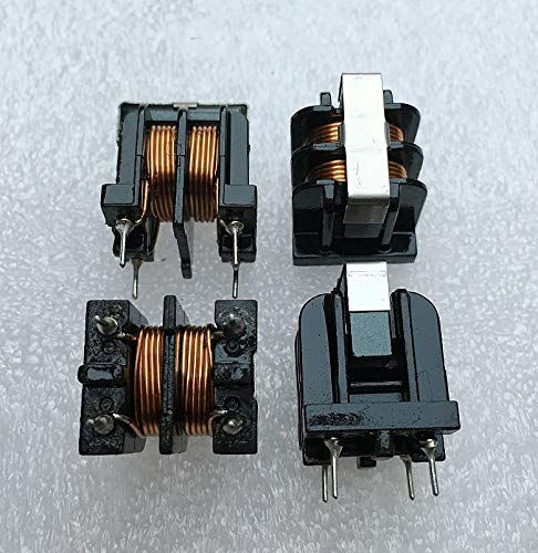 Maslin UU10.5 Common Mode Choke Inductors 0.6 Copper Wire 6A Inductance 2MH uu10.5 Filter bifilar Winding 50pcs