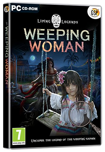 Lost Legends THE WEEPING WOMAN Hidden Object Collector's Edition PC Game