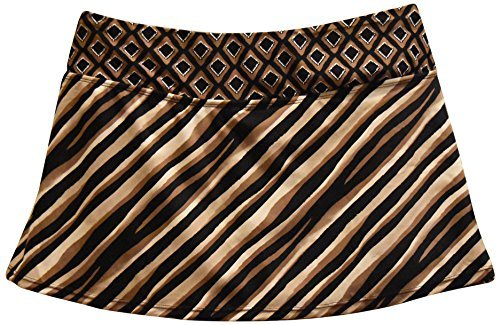 Skirtini Swim Bottom - Heat Women's Plus Size Skirtini Swim Skirt Swimsuit Bottoms (20W, Safari)