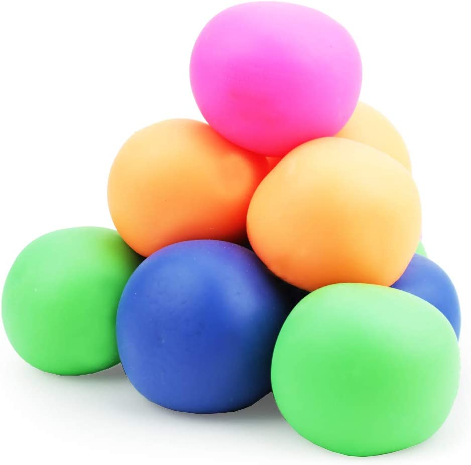 Amazon.com: Boley 12 Pack Stress Relief Toys - Latex-Free Assorted Squishy  Stress Ball Set - Stress Relief Sensory Toy for Relieving Tension and  Fidget Play - ADHD / Anxiety Aid for Kids,
