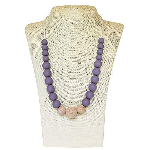 Top 10 best teething necklace purple