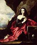 Imagekind Wall Art Print entitled St. Mary Magdalene Or St. Thais In The Desert, C.1 by The Fine Art Masters | 11 x 14