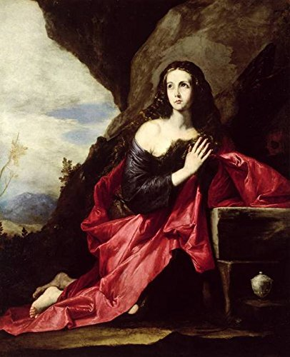 Imagekind Wall Art Print entitled St. Mary Magdalene Or St. Thais In The Desert, C.1 by The Fine Art Masters | 11 x 14 by Imagekind