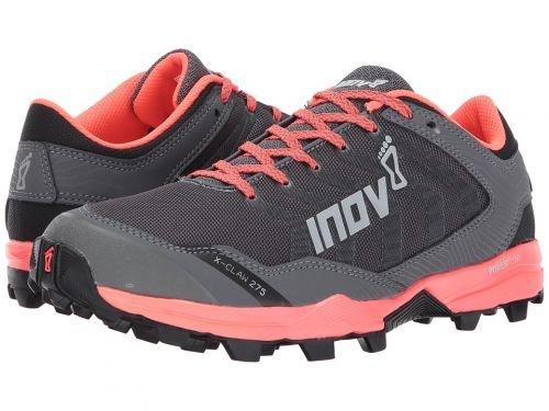 インストールランタン疑わしいInov-8(イノヴェイト) レディース 女性用 シューズ 靴 スニーカー 運動靴 X-Claw 275 - Grey/Coral [並行輸入品]