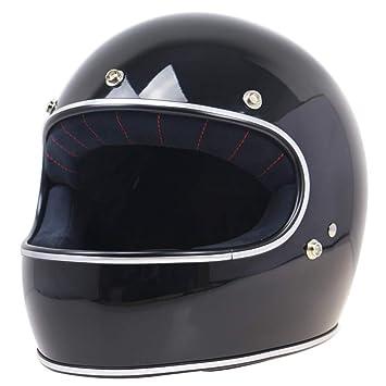 Moto Retro Casco Harley Casco Al Aire Libre Equitación Casual Casco Motos Cascos Moto Motociclistas Equipo