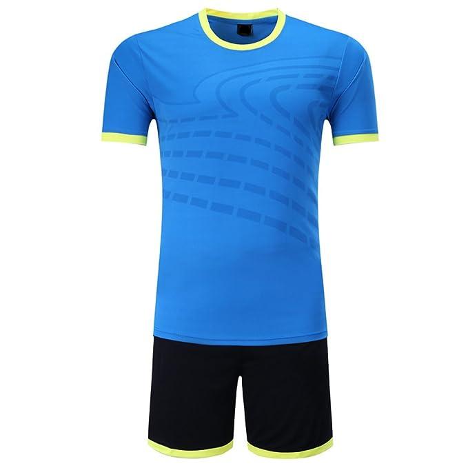 BOZEVON Kit de fútbol para Hombres y niños, Camisetas de fútbol, Trajes