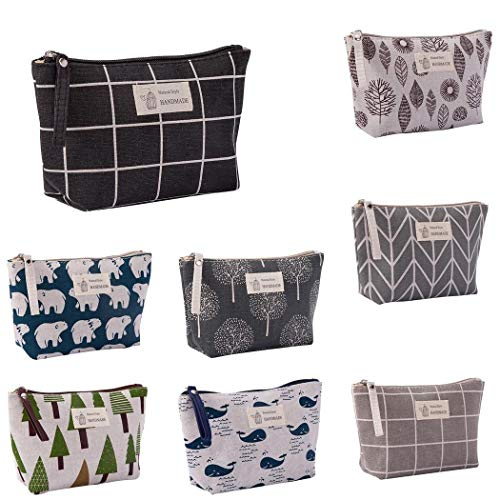 Large Capacity Print Cosmetic Bag