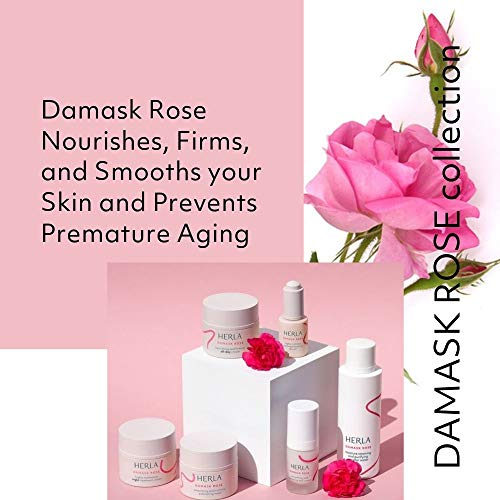 Herla Beauty - Damask Rose Line | Softening and Calming Toner - Restores Natural PH Balance