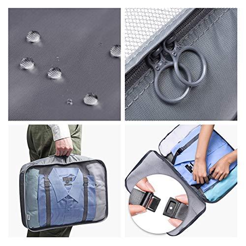 VAGREEZ Packing Cubes 4 Pcs Travel Luggage Packing Organizers Set by VAGREEZ (Image #3)