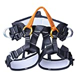 Jili Online Rock Climbing Tree Arborist Mountainrring Protection Harness Safety Sitting Seat Bust Belt Equipment