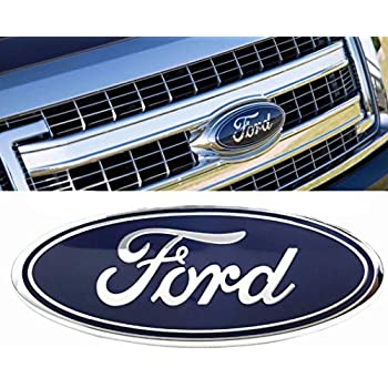 Ford F Front Grille Tailgate Emblem Oval X  Dark Blue Decal Badge Nameplate Also Fits For   F   Explorer