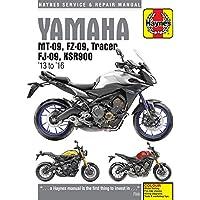 Yamaha Mt-09, Tracer And Xsr900 (13 - 16) (Haynes Service & Repair Manual)