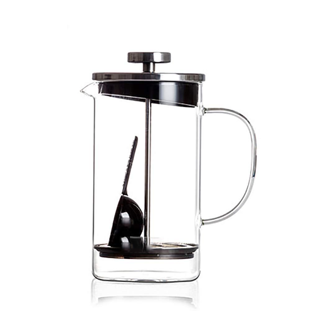 Acquisto Metodo Pressione Pentola Macchina per Il tè Caffettiera Teiera in Vetro Resistente al Calore in Acciaio Inox 600Ml Prezzi offerta