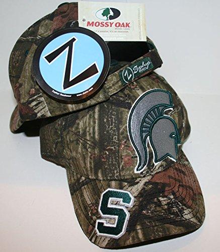 ZHATS Michigan State University MSU Spartans Top Camo - Gorra ...