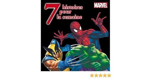 7 histoires pour la semaine avec les héros Marvel: Amazon.es ...
