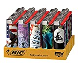 BIC Full Size Limited Special Edition Disposable Lighters Assorted Styles (25)