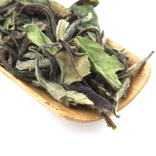 White Tea Blossom Peach (Tao Tea Leaf Organic Peach Blossom White Tea, 50g Premium Loose Tea Blend)