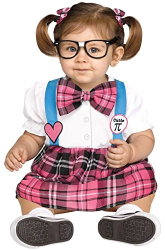 Cutie Pi School Nerd Toddler (Lady Bug Cutie Toddler Costumes)